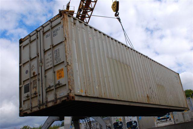 контейнер сухогрузный 40-ка футовый стальной