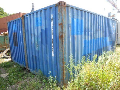 Сухогрузный контейнер